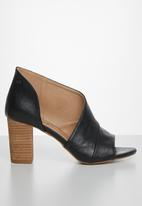 Miss Black - Tinos block heel - black