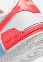 Nike - Air Force 1 Shadow SE - summit white-team orange