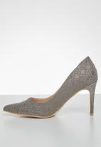 Miss Black - Apolo heel - grey