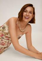 MANGO - Dress barbel - neutral