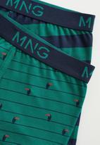 MANGO - Tucan boxers - green