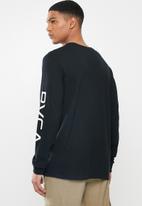 RVCA - Big Rvca long sleeve tee - black