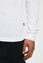 Rip Curl - Valley block long sleeve tee - white