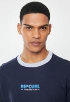 Rip Curl - Panel crew sweater - navy & grey