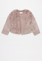 Superbalist - Tweens faux fur jacket - purple