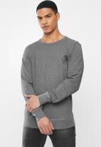 Diesel  - Willy sweat shirt - grey