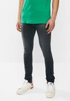 Diesel  - D-amny-x skinny jeans - black