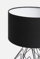 Sixth Floor - Jade table lamp - black