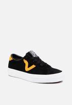 Vans - Vans Sport - black & cadmium yellow