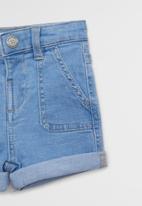 MANGO - Bermuda shorts hoku - denim light