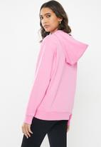 Vans - Sport boyfriend hoodie - pink