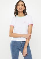 Vans - Rally bell T-shirt - white