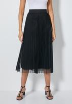Superbalist - Pleated skirt - black
