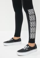 Vans - Chalkboard fair well legging - black