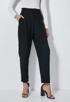 Superbalist - Premium tapered trousers - black