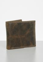 BOSSI - Leather dissb curve - brown