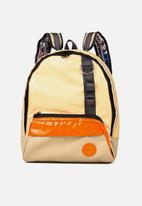 Sealand - Archi backpack - tan & orange