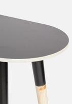 Native Decor - Pill console table - black