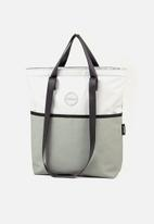 Sealand - Swish small tote - grey & blue