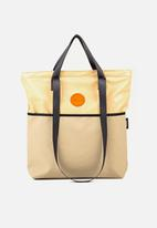 Sealand - Swish small tote - tan & orange