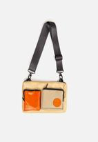 Sealand - Grab crossbody - tan & orange