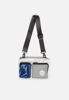 Sealand - Grab crossbody - grey & blue