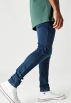 Factorie - Super stretch super skinny jean - bright ink blue