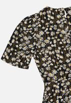 Glamorous - Petite daisy midi tea dress - multi