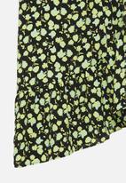Glamorous - Petite mini wrap dress - multi