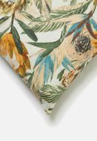 Hertex Fabrics - Royal flush saffron - multi