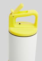 MiiR - Vi kids bottle - white & yellow