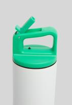MiiR - Vi kids bottle - white & green