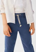 MANGO - Trousers nico6 - blue