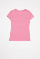 GUESS - Short sleeve Peyton tee - pink