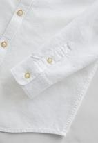 MANGO - Shirt oxford - white