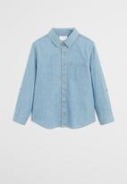 MANGO - Shirt daniel - blue