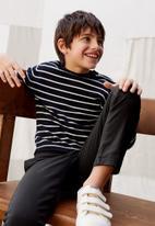 MANGO - Sweater lucas  - black & white