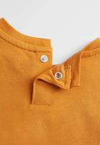 MANGO - T-shirt coco - yellow