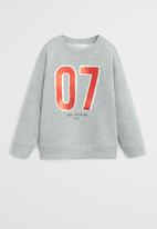 MANGO - Sweatshirt siete - grey