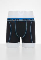 Bear - Bear 3 pack contrast cover seam boxer brief - multi