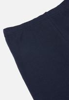 Rebel Republic - Girls 2 pack leggings - navy & grey