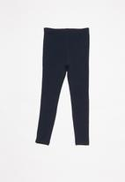 POP CANDY - 2 Pack leggings - navy & red
