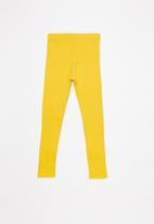 POP CANDY - 2 Pack leggings - grey & yellow
