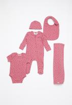 Cotton On - Newborn bundle pack - mauve plum