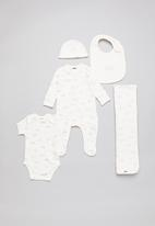Cotton On - Newborn bundle pack  - white & grey