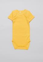 name it - 3 Pack short sleeve bodysuit - multi