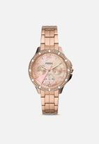 Fossil - Finley - rose gold