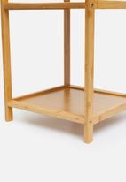 Sixth Floor - Bamboo bathroom storage shelf - natural