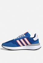 adidas Originals - Retroset - blue / white / solar red
