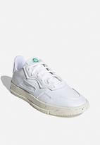 adidas Originals - SC Premiere - white / off white / green